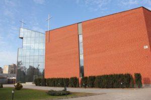 Gerojo Ganytojo bažnyčios šarvojimo salės